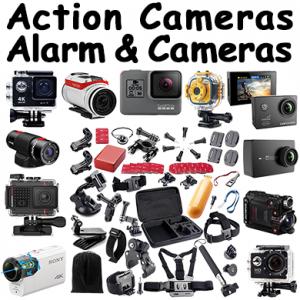 Action Cameras, Alarms & Security Cameras